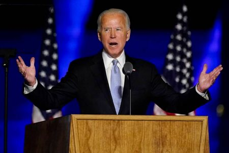 Trump acknowledges Joe Biden's win