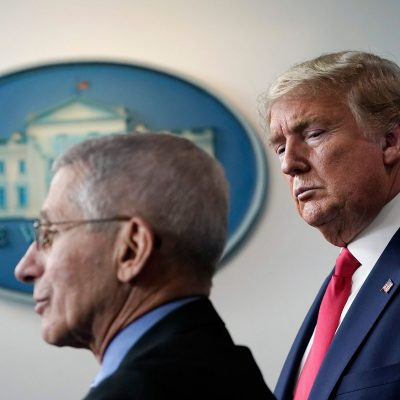 Trump hints at firing Fauci after US election