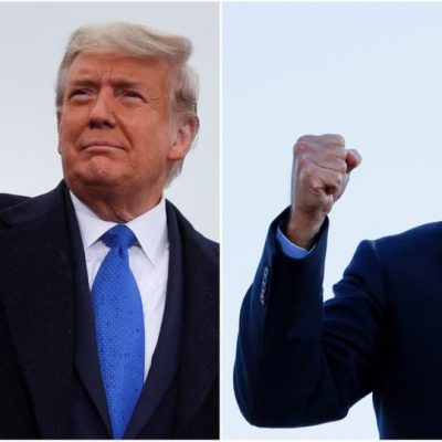 US election 2020: Joe Biden and Trump lock horns for victory as key states to decide the fate