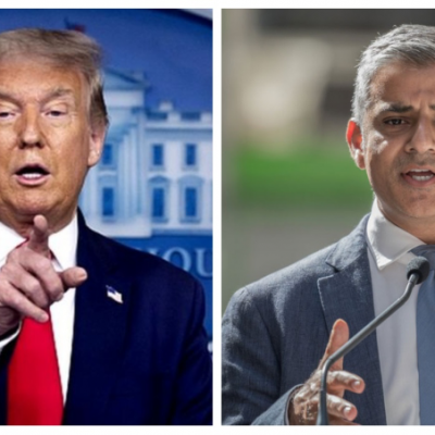 London mayor says Trump 'singled out' him over his faith