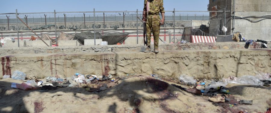 Western troops opened fire on civilians after suicide attack