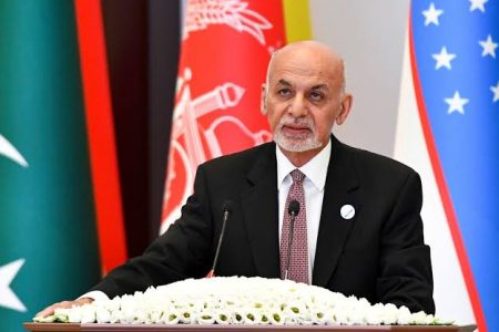 UAE foreign ministry says Ashraf Ghani is in the country