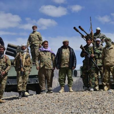 Anti-Taliban resistance group says ready to fight war against Taliban