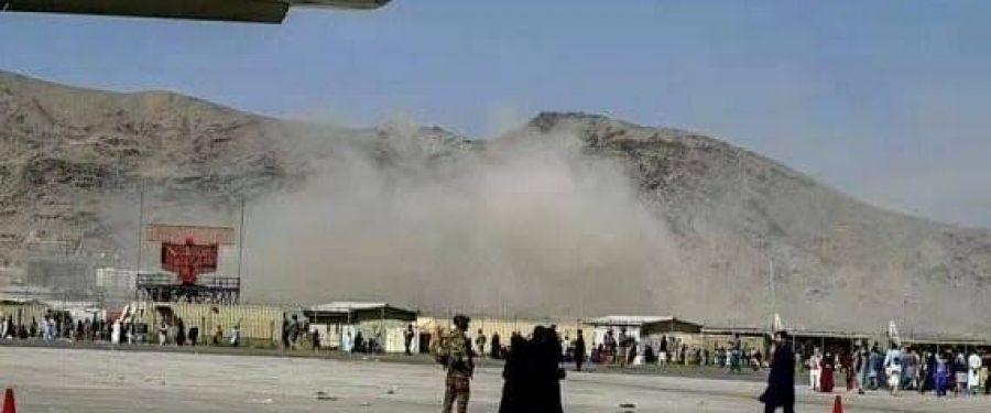 Anti-missile system intercepts as multiple rockets fired at Kabul airport