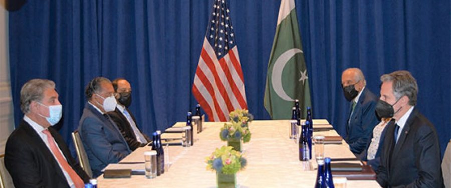 FM Qureshi, US Secretary of State discuss Afghan situation